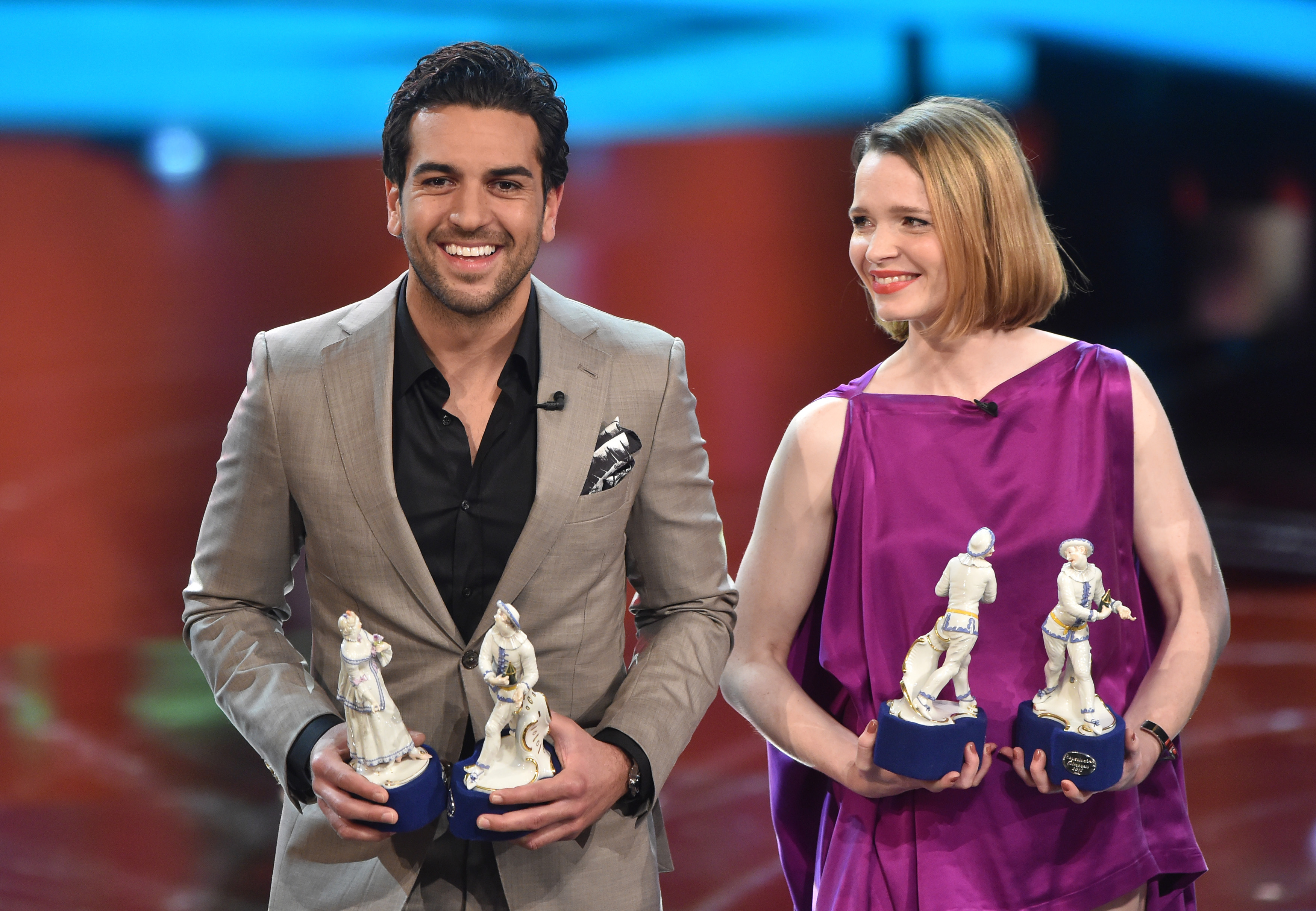 Elyas M'Barek and Karoline Herfurth